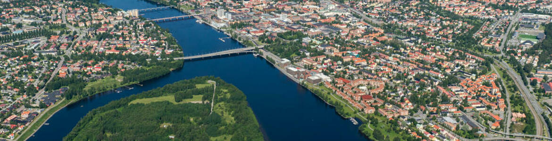 Flygbild Umea