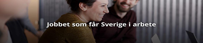 Jobbet som får Sverige i arbete